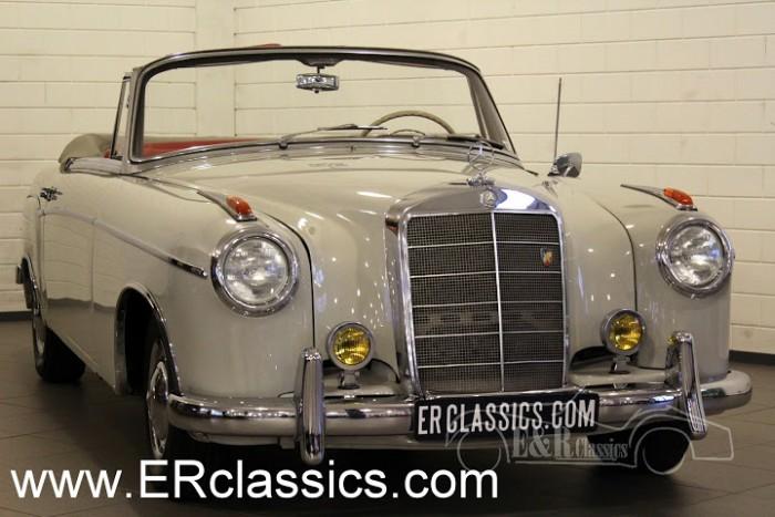 Mercedes Benz 220 S Cabriolet 1957 kopen
