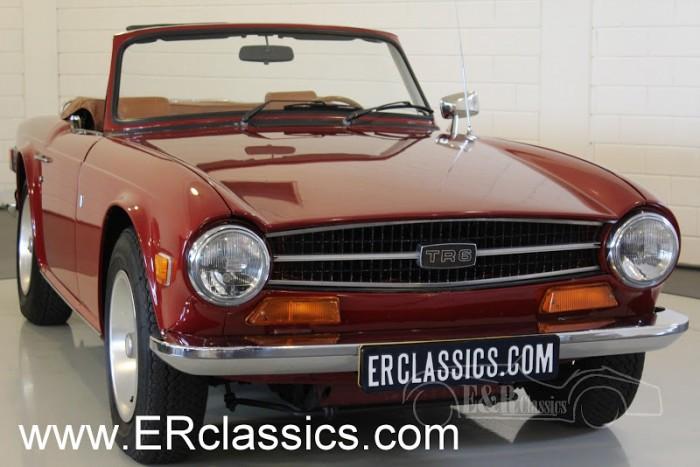 Triumph TR6 Cabriolet 1974 kopen