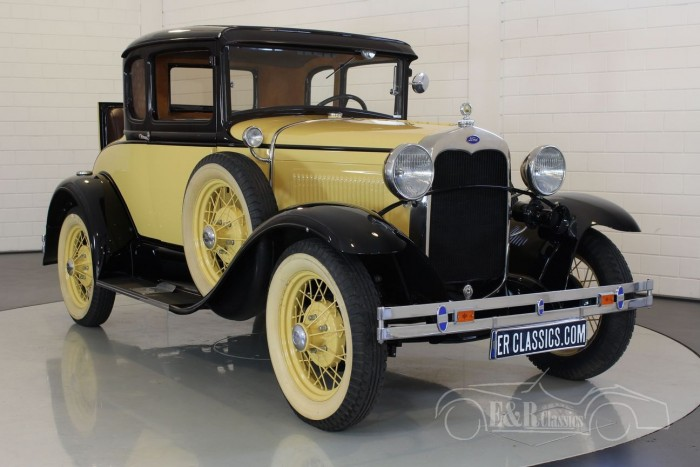 Ford Model A Deluxe coupe 1930  kopen