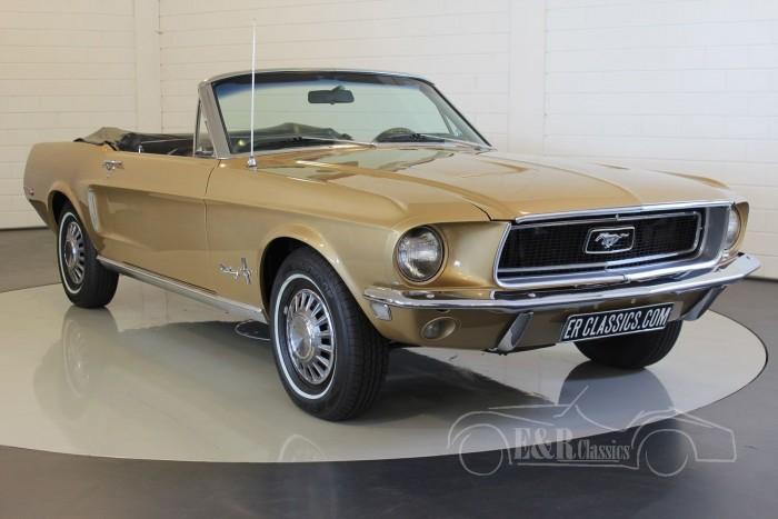 Ford Mustang Cabriolet V8 1968  kopen