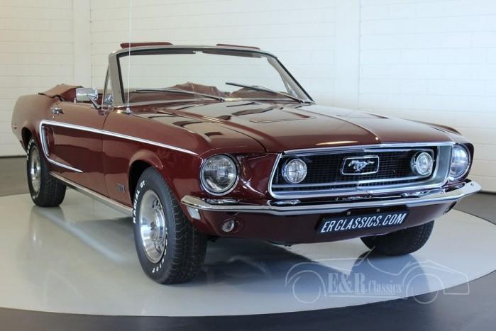 Ford Mustang GT cabriolet 1968 kopen