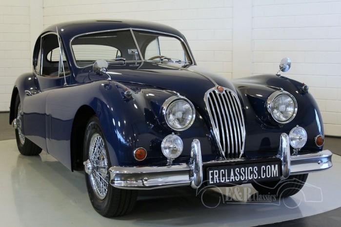 Jaguar XK140 FHC, LHD 1956 kopen