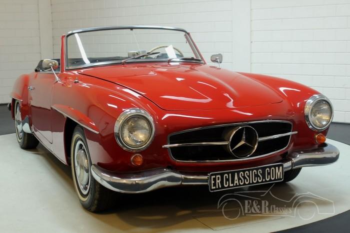 Mercedes-Benz 190SL 1962 cabriolet kopen
