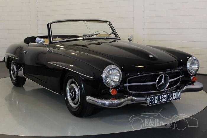 Mercedes Benz 190SL cabriolet 1962  kopen