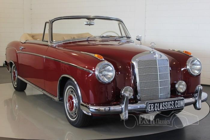 Mercedes-Benz 220S cabriolet Ponton 1958  kopen