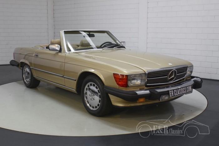 Mercedes-Benz 560 SL Cabriolet  kopen