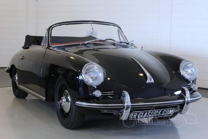 Porsche 356B 1600 cabriolet 1963 kopen