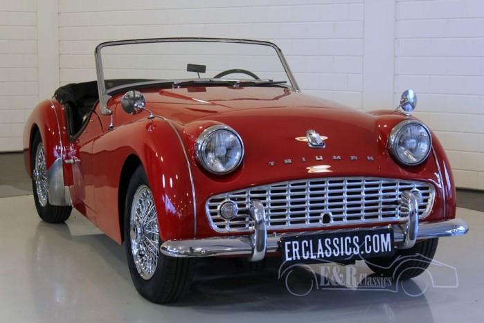 Triumph TR3A Roadster 1960 kopen
