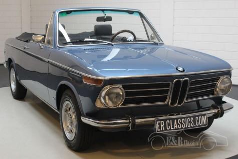 BMW 1600 Baur cabriolet 1970 kopen