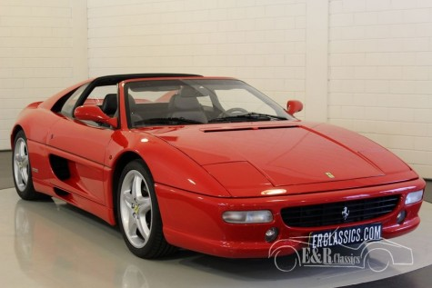Ferrari F355 GTS F1 47.200 km 1998  kopen