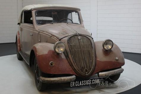 Barnfind 6-cyl NSU-Fiat 1500 Gläser Cabriolet 1938 kopen