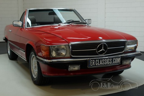 Mercedes Benz 380SL Cabriolet 1985  kopen