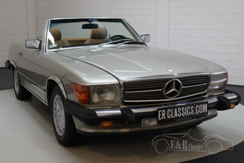 Mercedes-Benz 560 SL Roadster 1986 kopen