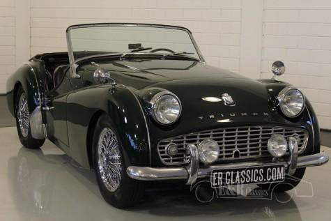 Triumph TR3A Cabriolet 1960  kopen