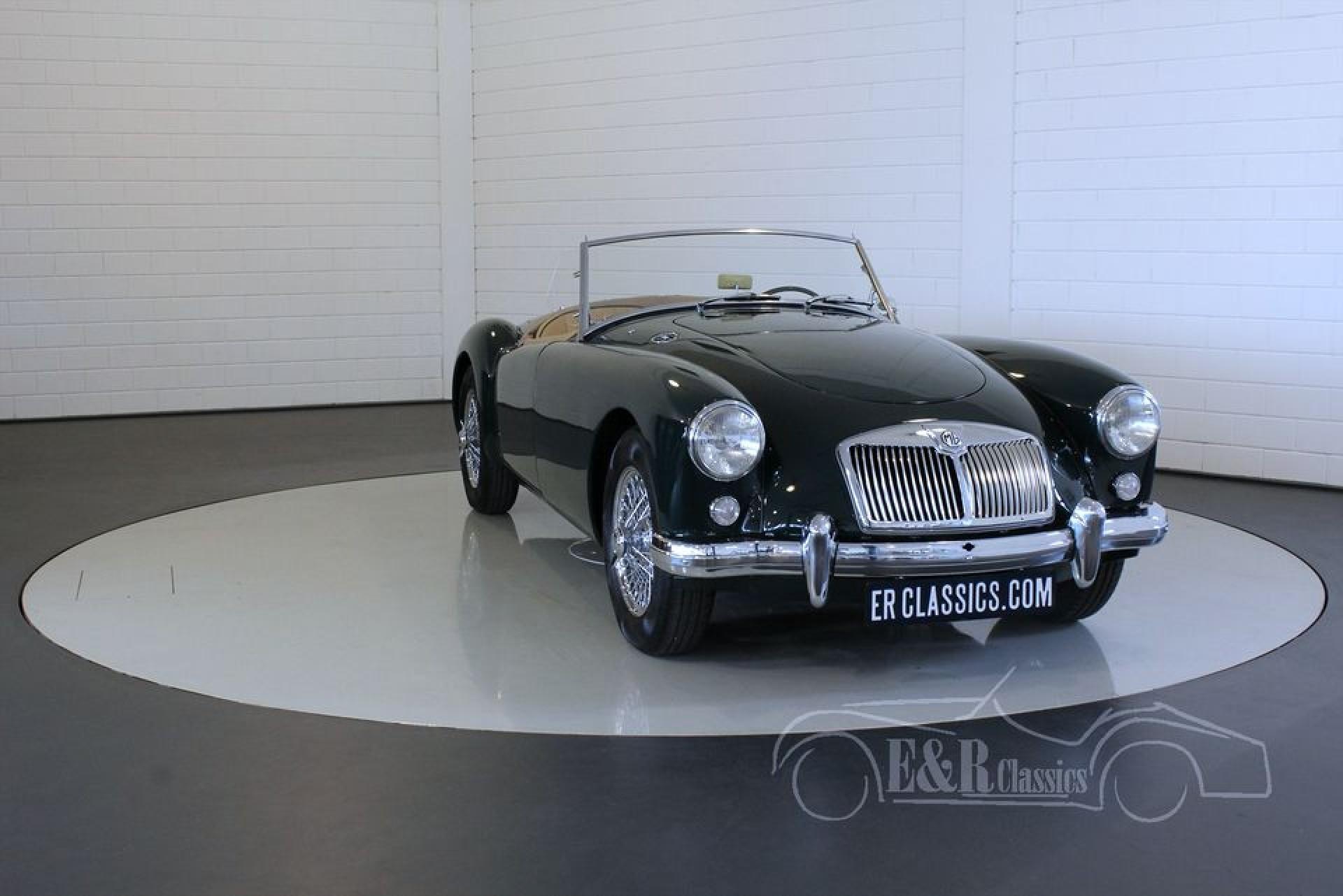 Mg Mga Cabriolet Te Koop Bij Erclassics Jpg 1920x1282 1957