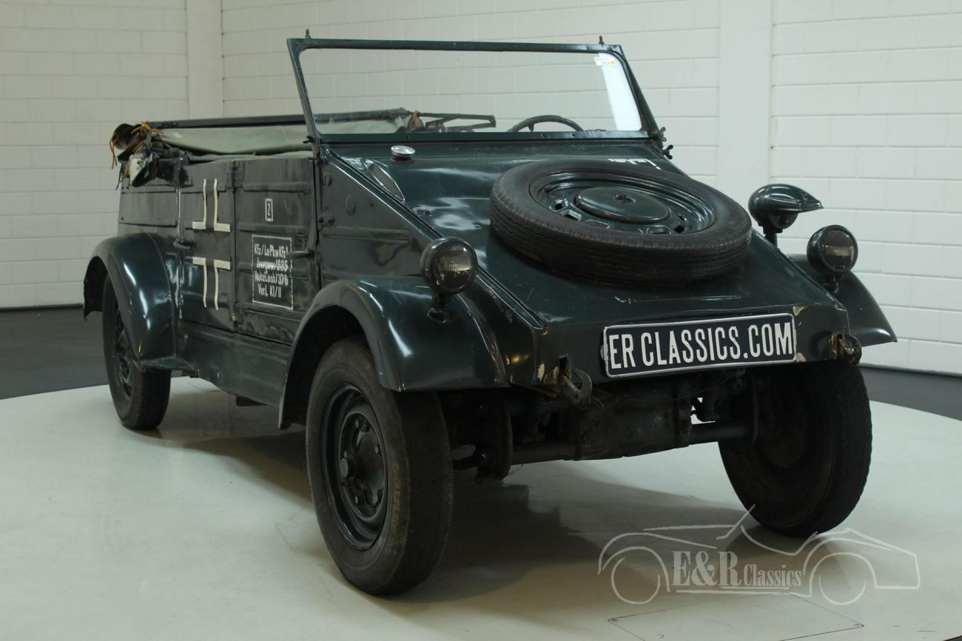 volkswagen kubelwagen 1942 te koop bij erclassics. Black Bedroom Furniture Sets. Home Design Ideas