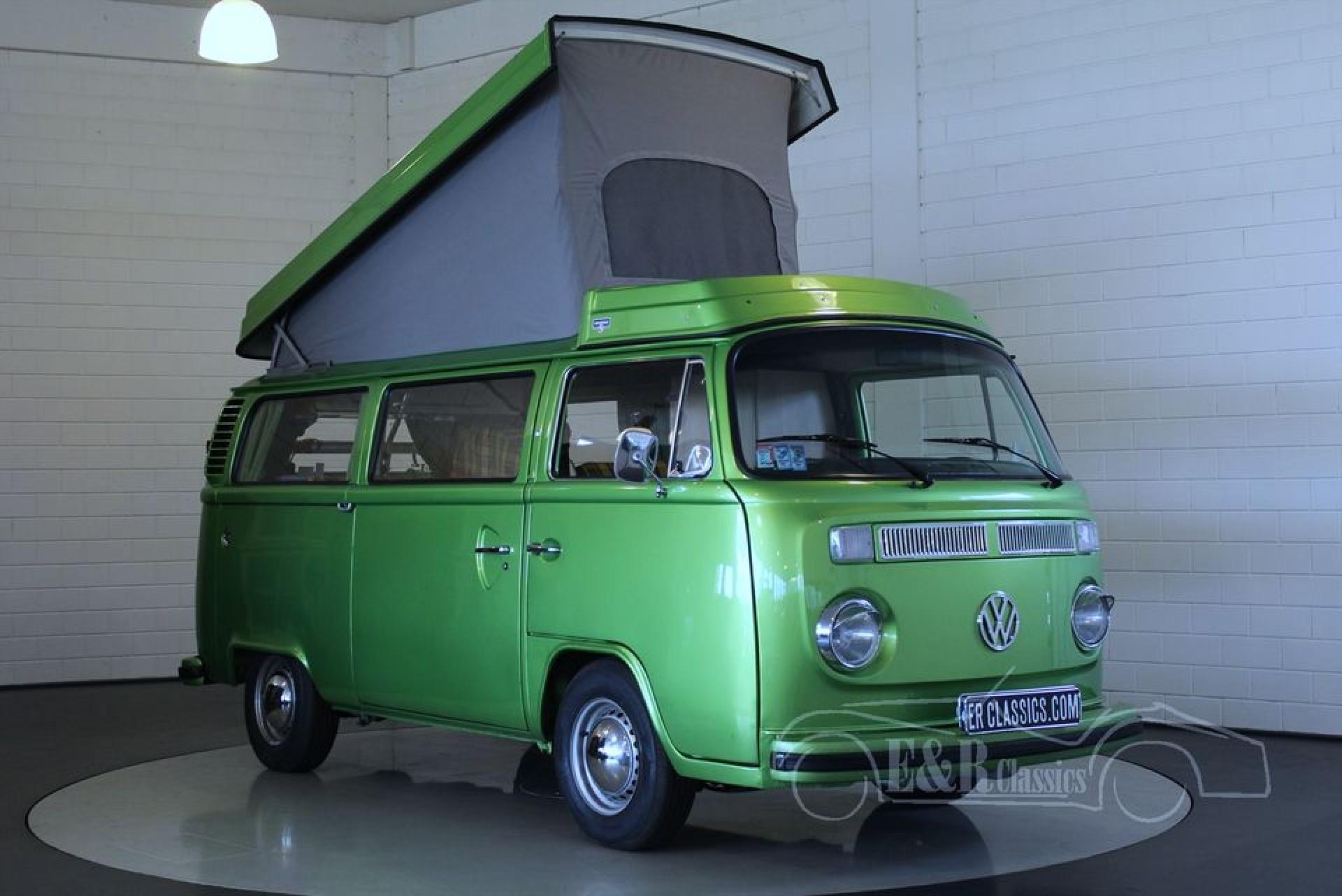 volkswagen t2b westfalia 1977 te koop bij erclassics. Black Bedroom Furniture Sets. Home Design Ideas